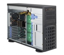 "Case Supermicro CSE-745BAC-R1K28B2 - Tower/4U Rack, 2x1280W, 8x3.5"" HDD HS SAS/SATA + 3x5.25"" Bays"